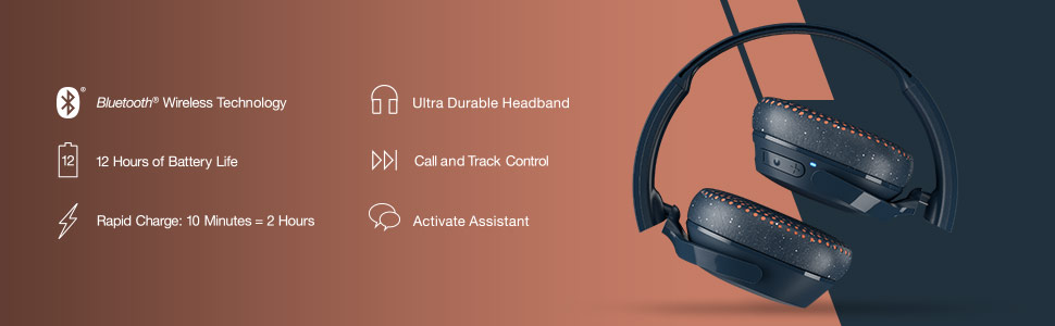 Skullcandy - Riff Wireless bluetooth S5PXW-L673