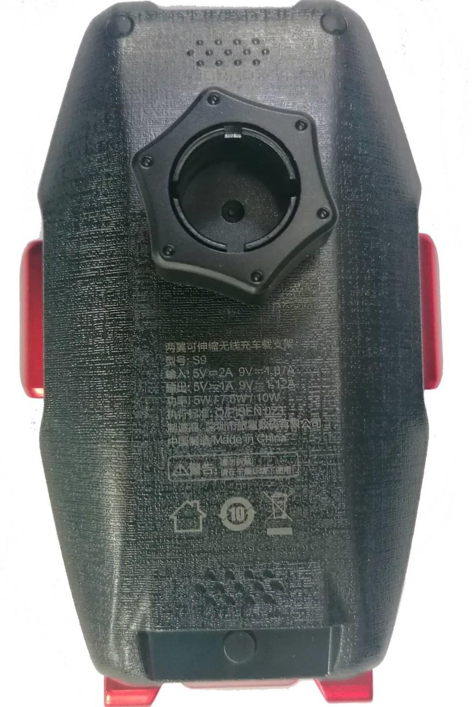 Pisen - car holder { Wireless charging 10 w // Premium quality // Air vent mount } [ S9 ]